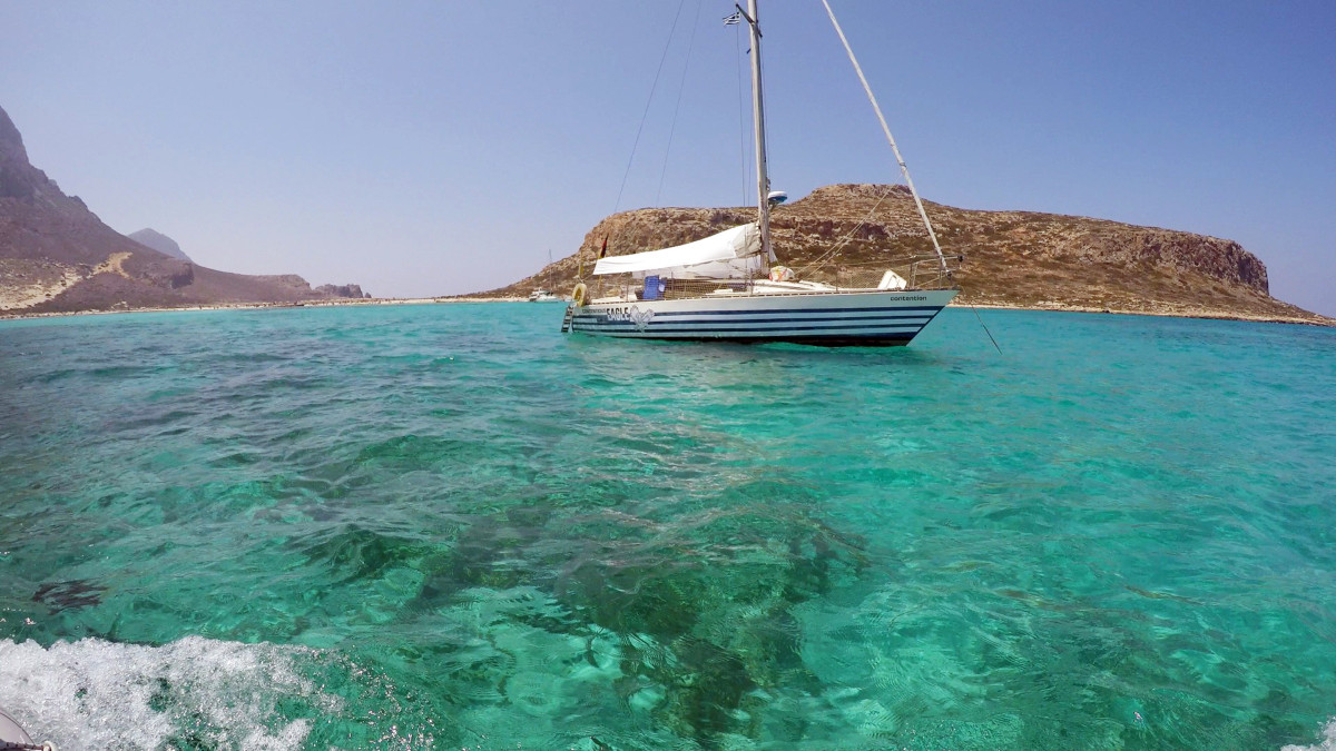 Sailing and Diving in Greece